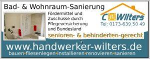 Bad Sanierung Handwerker Wilters Friesland, Jever Varel und Oldenburg